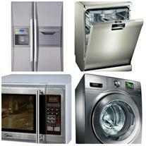 تعمیر لباسشویی ، ظرفشویی ، ساید یخچال فریزر