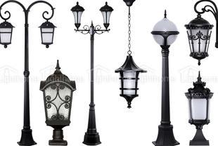 تولید و پخش انواع چراغ های روشنایی - پارکی - سقفی