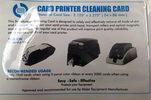 فروش ویژه تمیز کننده های چاپگر آنی کارت