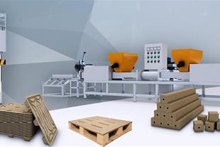 ماشین آلات تولید پالت پرسی چوبی