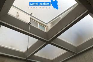 اجرای انواع سقف نورگیر