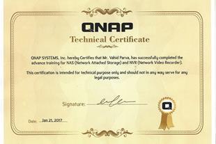 خدمات QNAP: نصب و راه اندازی، طراحی و اجرای سناریو