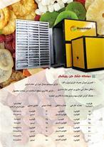 دستگاه خشک کن میوه و سبزی گازی فوق کم مصرف