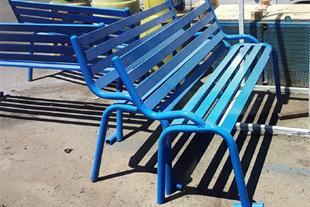 تولید نیمکت پارکی - صندلی فلزی پارکی