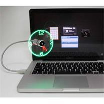 فروش پنکه و نمایشگر ساعت USB Clock Fan