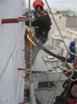 کار در ارتفاع ، شستشوی نما ، اجاره کلایمبر