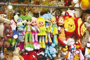 واردات انواع اسباب بازی از هند و چین تضمین در ایرا