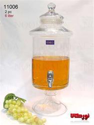 کلمن شیشه ای 6 لیتری - 1