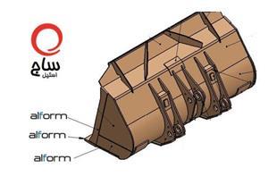 ورق فولادی ویژه ساخت باکت حمل سرباره مذاب - 1
