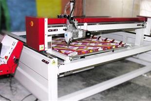 دستگاه تک کله مخصوص تولید لحاف