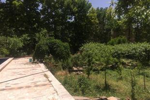 باغچه به همراه ویلا