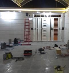 آموزش نصب و راه اندازی درب جکی  پارکینگ - 1