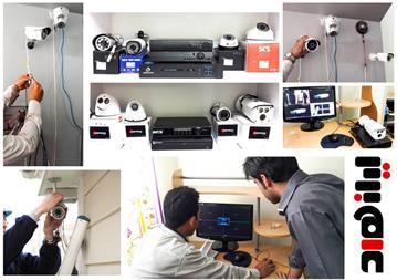 آموزش نصب دوربین مداربسته و انتقال تصاویر - 1