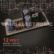 برد منبع تغذیه دوبل 12 ولت رگوله شده مدل : SPD121
