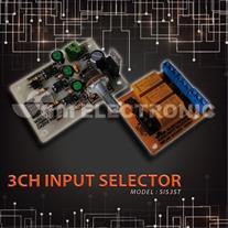 برد انتخابگر ورودی استریو 3 کانال - مدل : SIS3ST