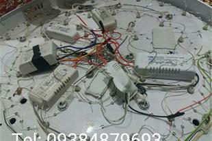 نصب و تعمیر لوستر ال ای دی LED و چراغ و لوستر عادی