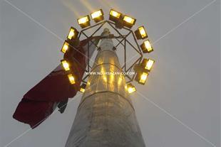 برج پرچم 50 متری دو منظوره موزه دفاع مقدس ساری