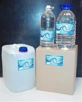 فروش ویژه آب مقطر سپهر با بسته بندی جدید در بطری ه