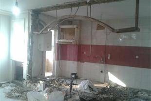 اجرای انواع کارهای ساختمانی اعم از تعمیر و تغییر