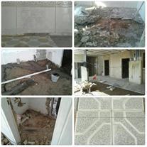تخریب و بازسازی ساختمان