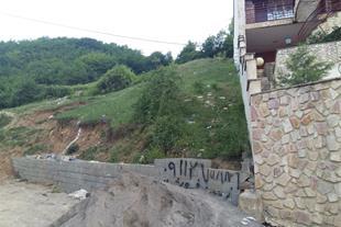 زمین ییلاقی داخل بافت روستای زیارت