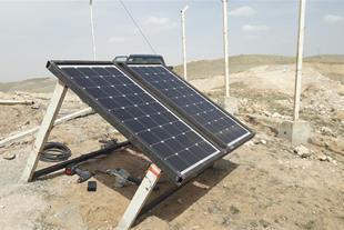 اجرای برق خورشیدی