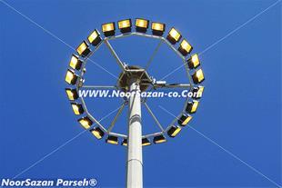 برج روشنایی . پایه روشنایی و پایه چراغ