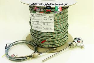سیم و کابل رابط و جبران ساز ترموکوپل BLF ایتالیا - 1