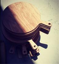 زیر پیتزایی چوبی