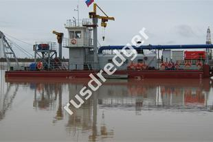 Dredger 3800  by URAL GYDROMECHANICAL PLANT, CJSC