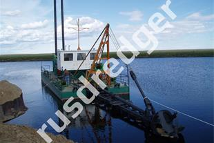 Dredger 1400  by URAL GYDROMECHANICAL PLANT, CJSC
