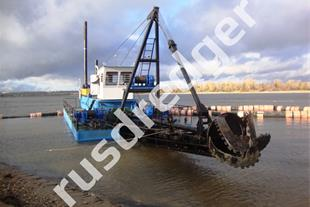 Dredger 2400  by URAL GYDROMECHANICAL PLANT, CJSC