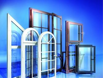 پنجره طرح چوب و نمای ساختمان با upvc در اهواز - 1