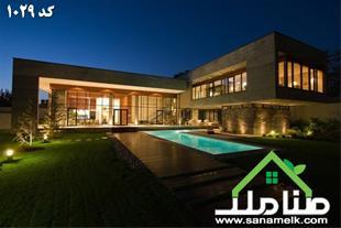 فروش زیباترین باغ عمارت محمدشهر کرج کد1029