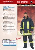 لباس عملیاتی آتش نشان  Novotexنواتکس آلمان از جنس - 1