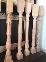 ساخت نرده چوبی منبت کاری شده