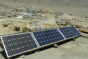 سیستم برق خورشیدی خانه سبز اصفهان
