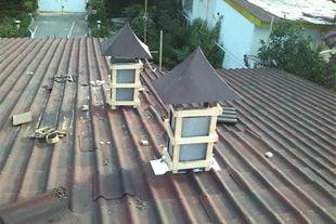 طراحی سقف - اجرای سقفهای شیبدار_اندولین_شینگل