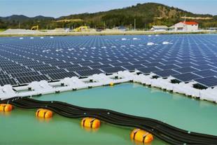 سلول خورشیدی شناور جهت ساخت نیروگاه خورشیدی