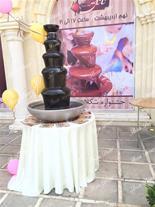 ماکت آبشار شکلاتی