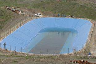 احداث و اجرای استخر ذخیره آب کشاورزی