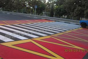 رنگ و چسب ترافیکی - رنگ ترافیکی دو جزئی زرد
