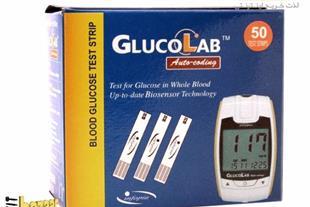 نوار تست قند خون گلوکولب GlucoLAB - 1