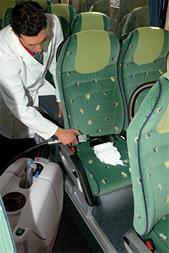 دستگاه مبل شور - دستگاه نظافت داخل اتوبوس - 1