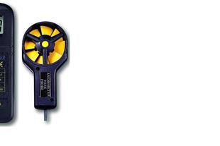 سرعت سنج باد / بادسنج / آنومتر لوترون مدل AM-4200