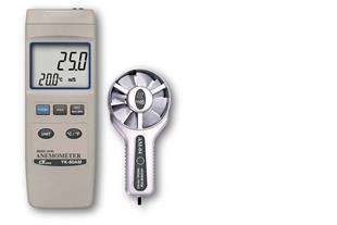 سرعت سنج باد / بادسنج / آنومتر لوترون مدل YK-80AM