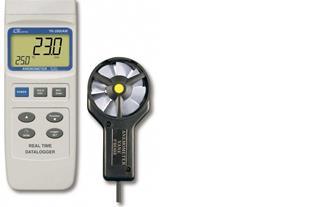سرعت سنج باد / بادسنج/ آنومتر لوترون مدل YK-2005AM