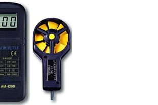 سرعت سنج باد / بادسنج/ آنومتر لوترون مدل AM-4200