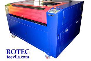 دستگاه برش و حکاکی لیزری روتک- ROTEC