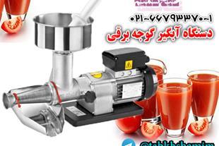 دستگاه آبگیر گوجه ، آبگیری گوجه ، گوجه آبگیری شده